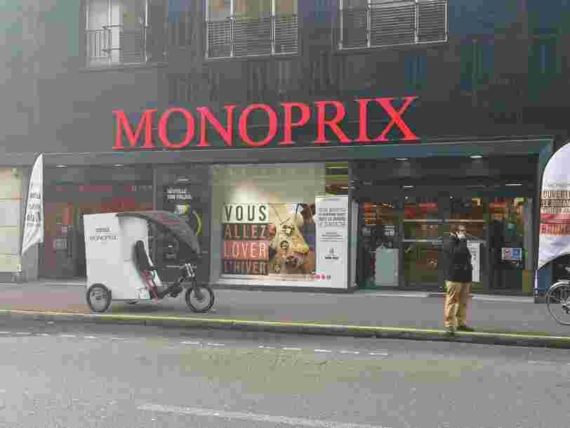 Monoprix vend des 'objets coquins' dans deux magasins à Paris