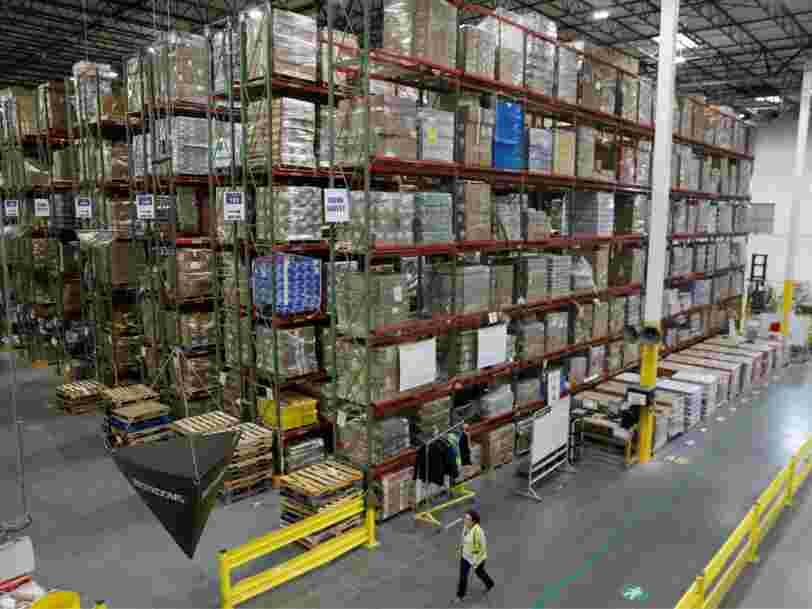 Amazon suspend les expéditions des produits non essentiels de certains vendeurs tiers vers ses entrepôts