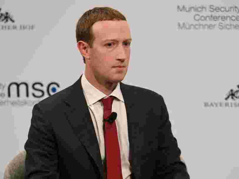 Facebook a supprimé par erreur des articles sur le coronavirus
