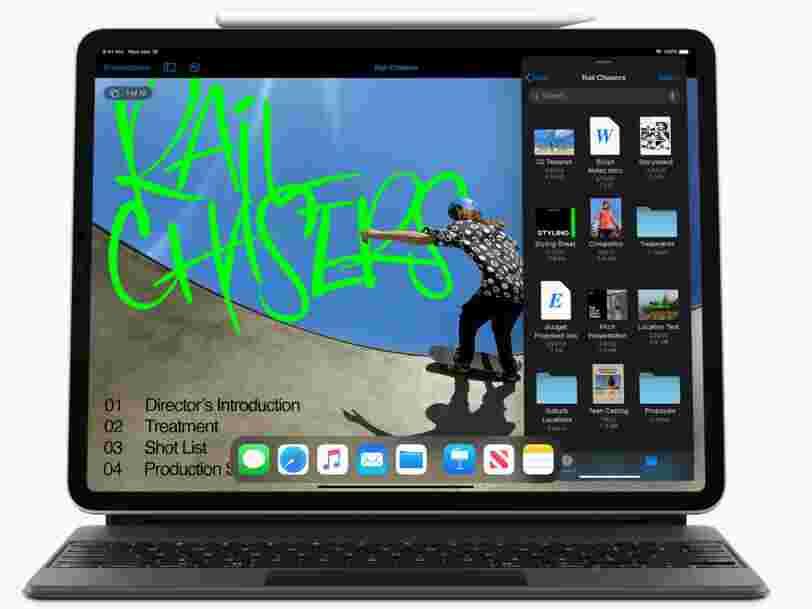 Le nouvel iPad Pro d'Apple se rapproche fortement d'un MacBook
