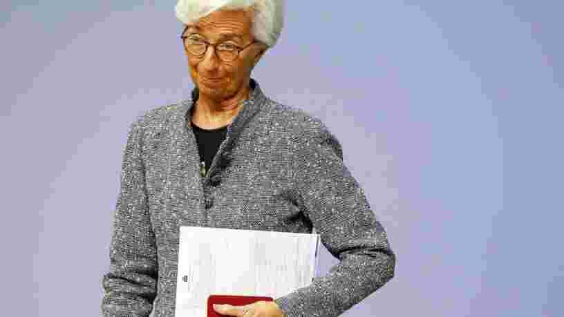 Coronavirus : la BCE lance un plan d'urgence colossal pour acheter de la dette en Europe et rassurer les marchés