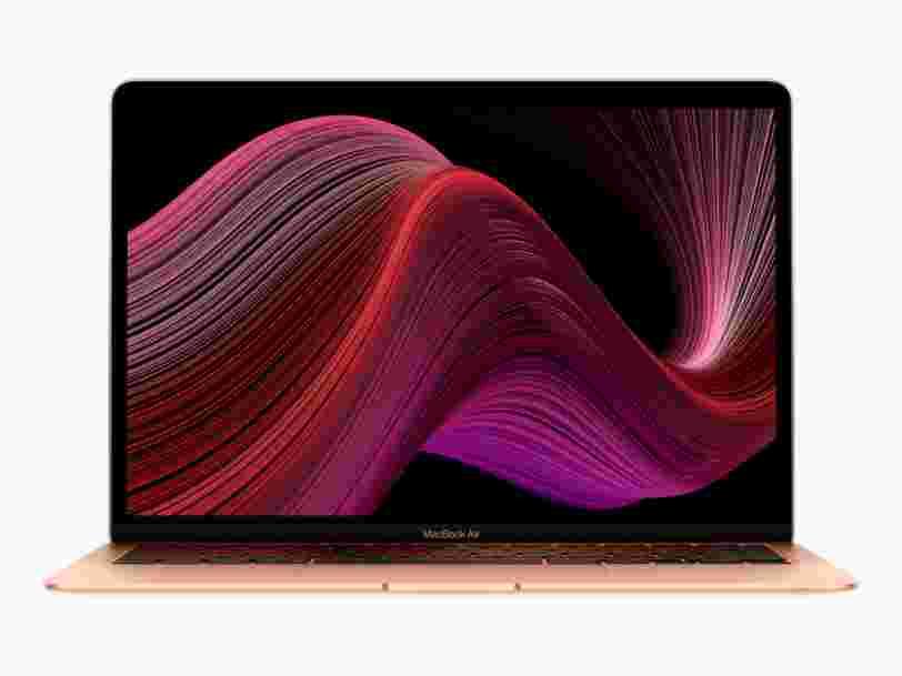 Voici les quelques changements apportés au MacBook Air 2020