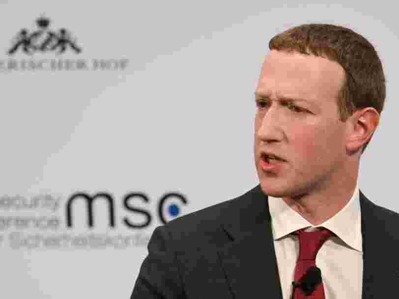Mark Zuckerberg assure que Facebook n'envisage pas de partager la localisation des utilisateurs pour traquer la propagation du coronavirus