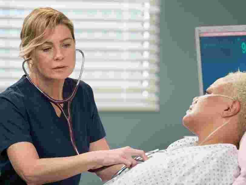 'Grey's Anatomy' et d'autres séries médicales donnent leurs masques et gants à de véritables hôpitaux aux États-Unis