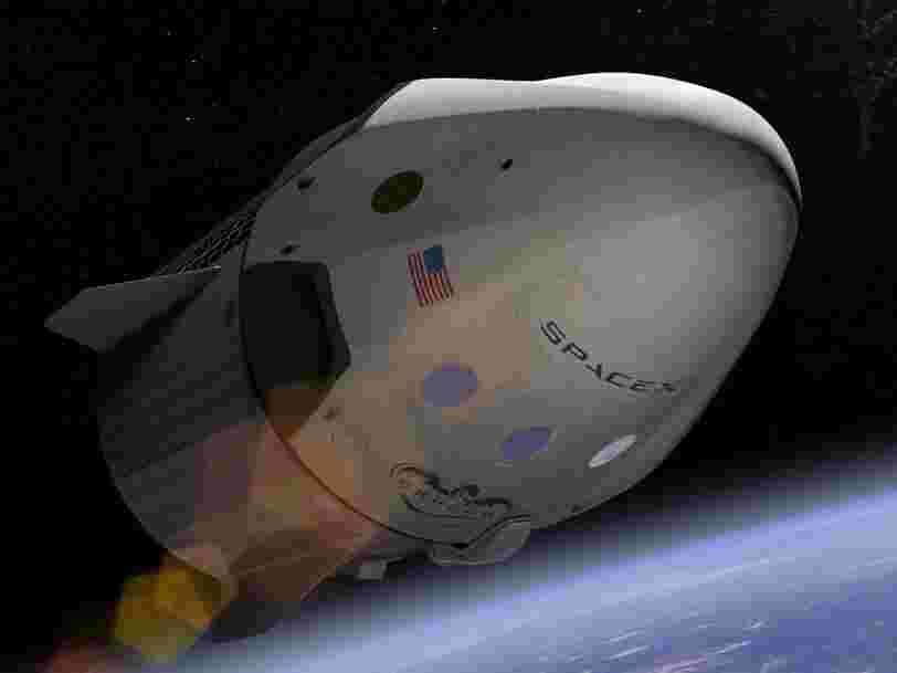 La NASA annonce que le premier vol habité avec la Crew Dragon aura lieu entre 'mi-mai et fin-mai'
