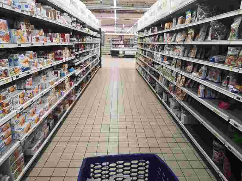 Les supermarchés donnent la priorité au personnel soignant pendant le confinement