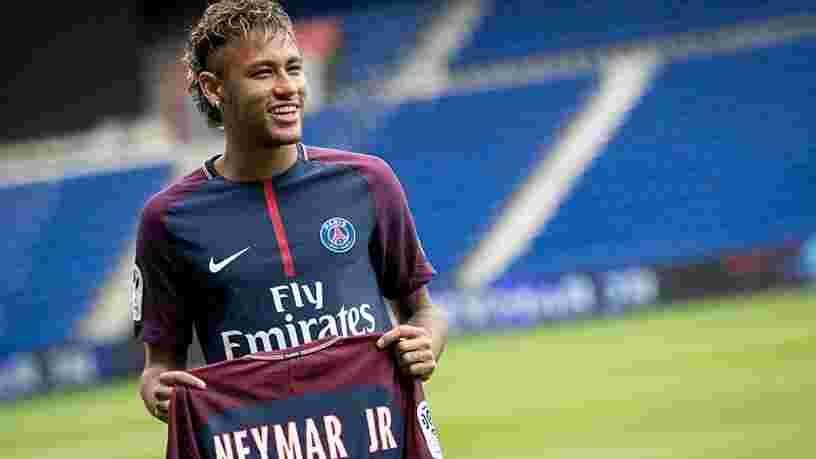 Neymar est le joueur de Ligue 1 qui toucherait les plus importants revenus, et largement