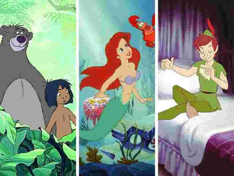 Voici les 25 films d'animation Disney préférés des Français