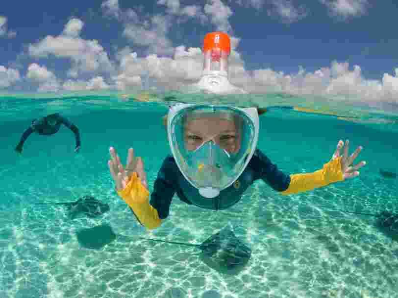 Des masques de plongée Décathlon détournés en respirateurs en Italie