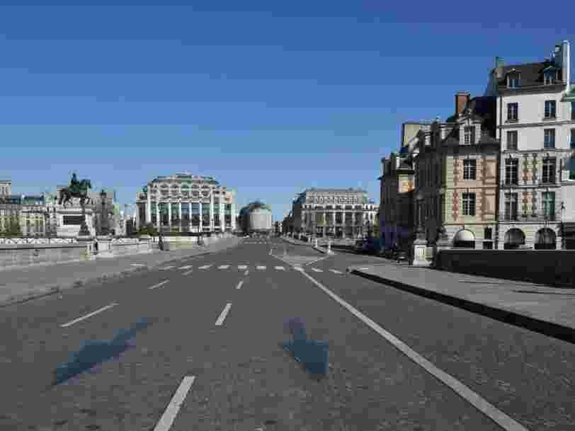 La qualité de l'air s'est améliorée d'environ 30 % en Ile-de-France depuis le début du confinement