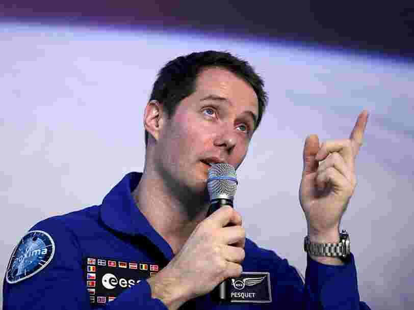 Thomas Pesquet et d'autres astronautes européens vont répondre à des questions d'internautes sur le confinement