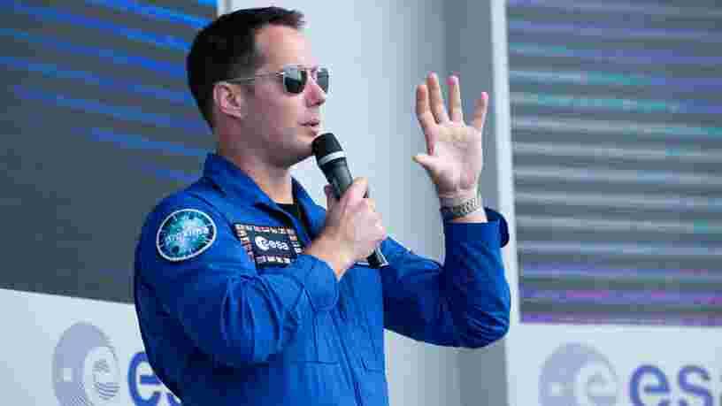 Thomas Pesquet informe que la préparation pour sa deuxième mission spatiale est en 'stand-by'