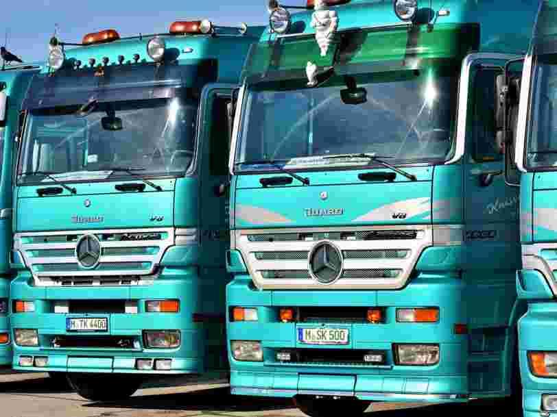 L'appel des syndicats au retrait des routiers a été relativement peu suivi