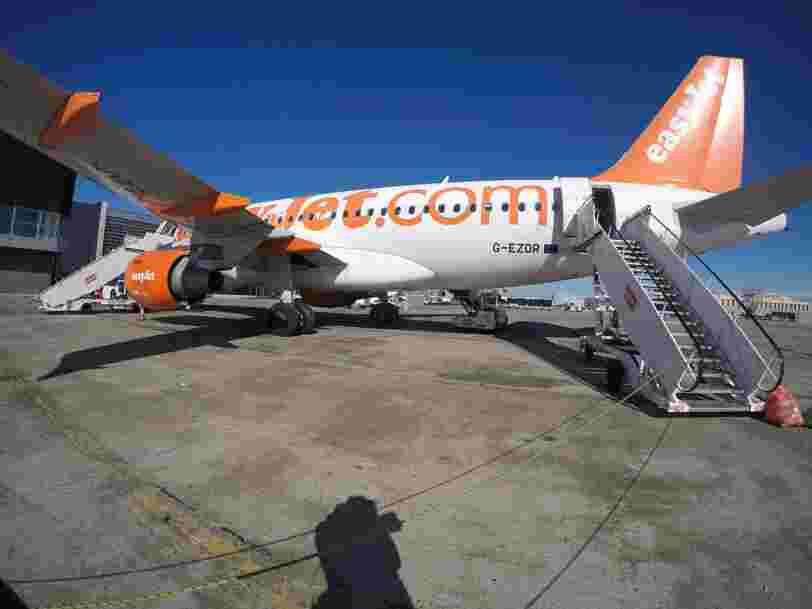 EasyJet immobilise tous ses avions jusqu'à nouvel ordre