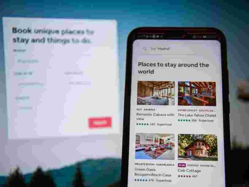 Airbnb aurait largement abaissé sa valorisation en conséquence de la crise sanitaire