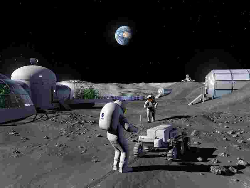 L'urine d'astronautes pourrait être utilisée pour créer du 'béton spatial'