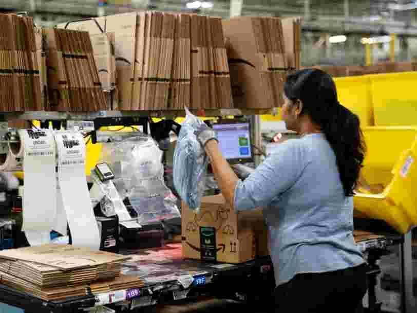 Amazon tente de rassurer ses employés en France en promettant des masques