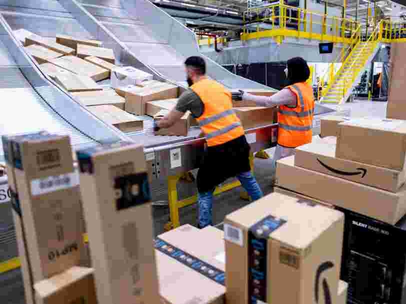 Amazon compte sur des salariés 'volontaires' pour faire respecter les distances de sécurité