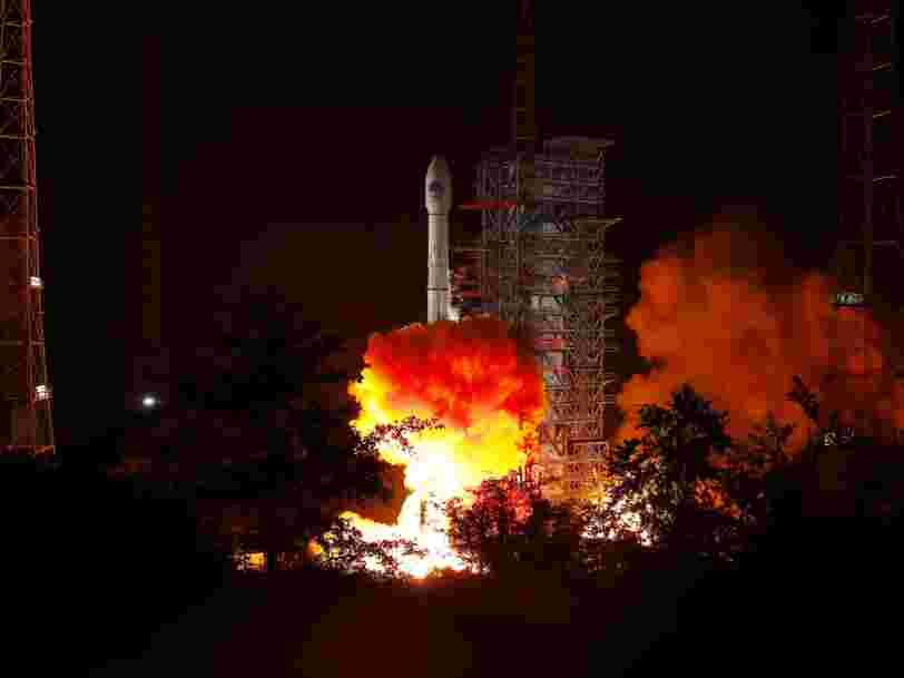La Chine rate un second lancement avec sa fusée phare en moins d'un mois