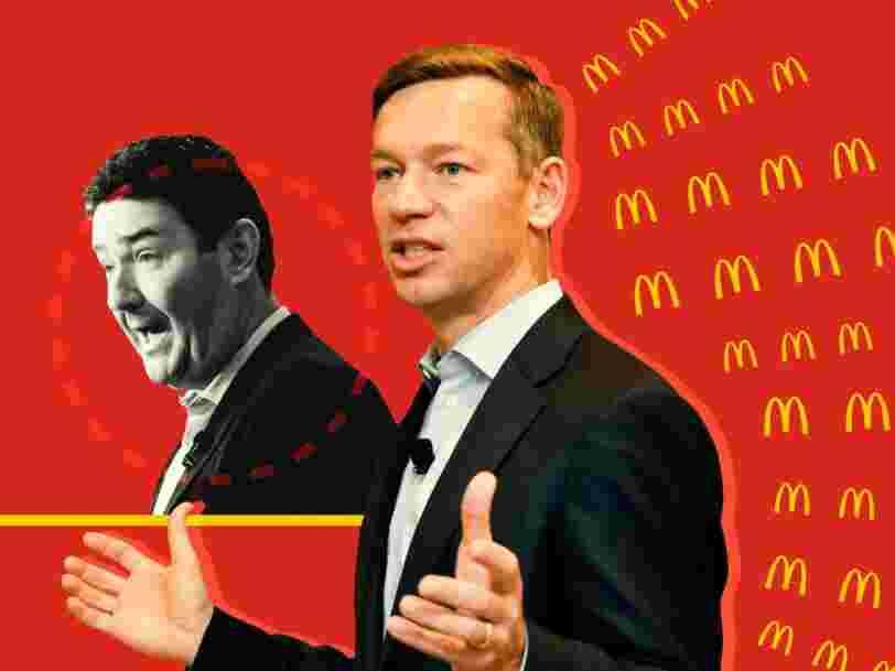 Le patron de McDonald's a gagné près de 2 000 fois plus que le salaire médian de ses employés l'an dernier