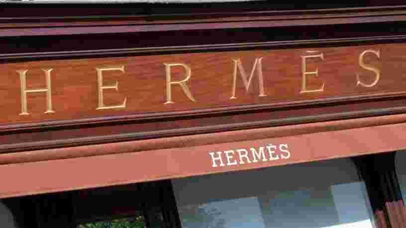 Une boutique Hermès réalise un record de vente lors de sa réouverture en Chine