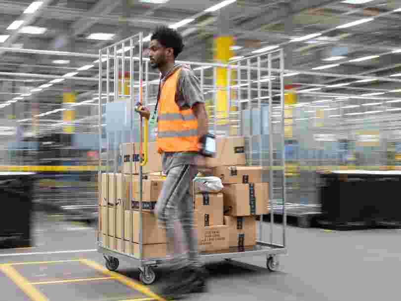 Amazon ne sait pas quand ses entrepôts en France rouvriront mais il est toujours possible de commander
