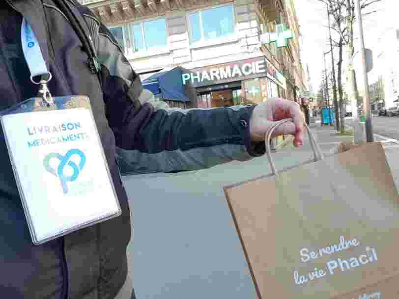La livraison de médicaments à domicile connaît un boom, mais elle fait face à de nombreux freins