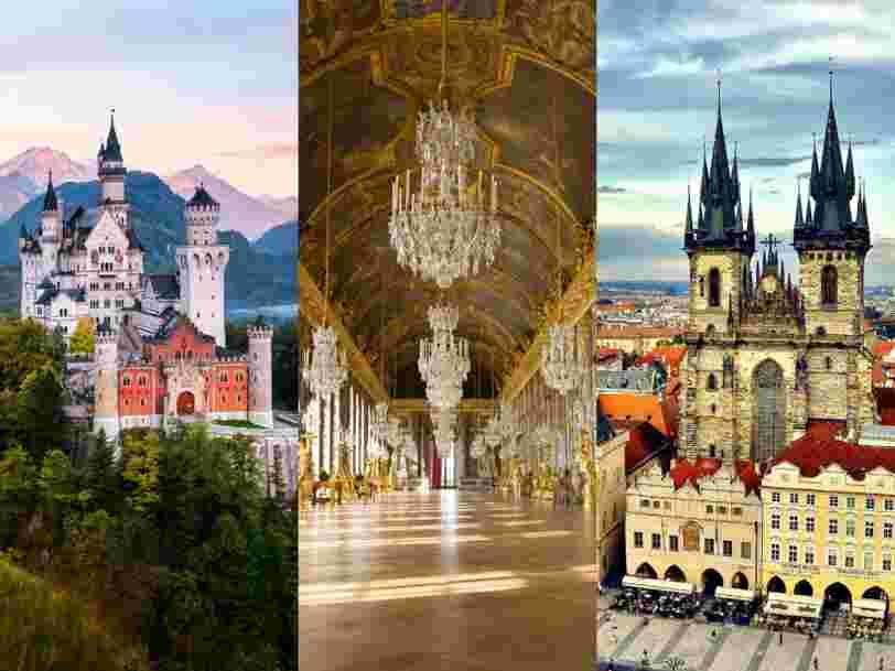 20 châteaux et résidences royales que vous pouvez explorer depuis votre canapé