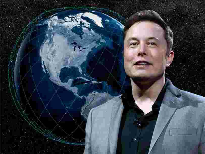 Elon Musk annonce qu'on pourra se connecter à Internet grâce aux satellites Starlink dans 6 mois environ