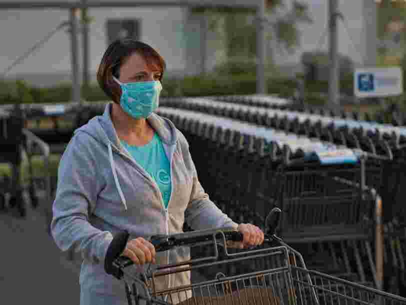 Le gouvernement va distribuer des masques grand public à partir du 4 mai