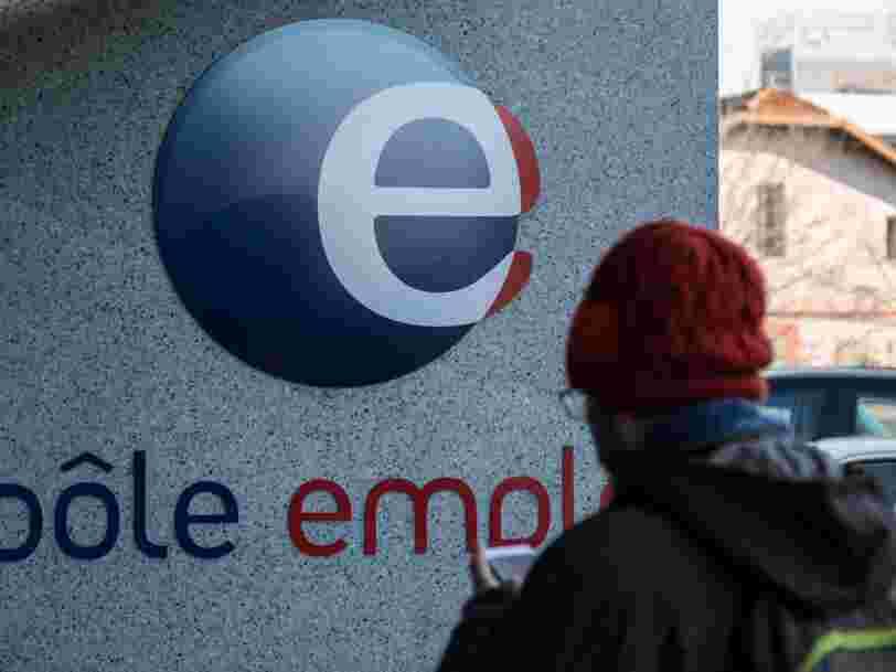 Pôle emploi enregistre une hausse historique du nombre de chômeurs sur un mois