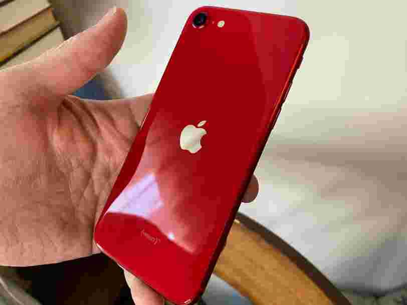 Le nouvel iPhone SE à 489€ est parfait pour ceux qui détestent les gros téléphones et ne veulent que l'essentiel