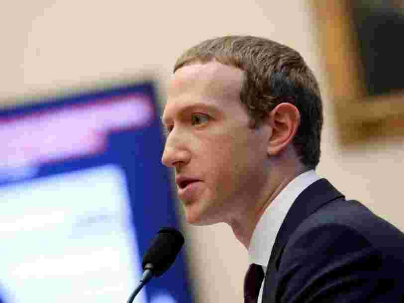 Mark Zuckerberg prévient qu'un déconfinement trop rapide 'garantirait' un retour en force de la pandémie