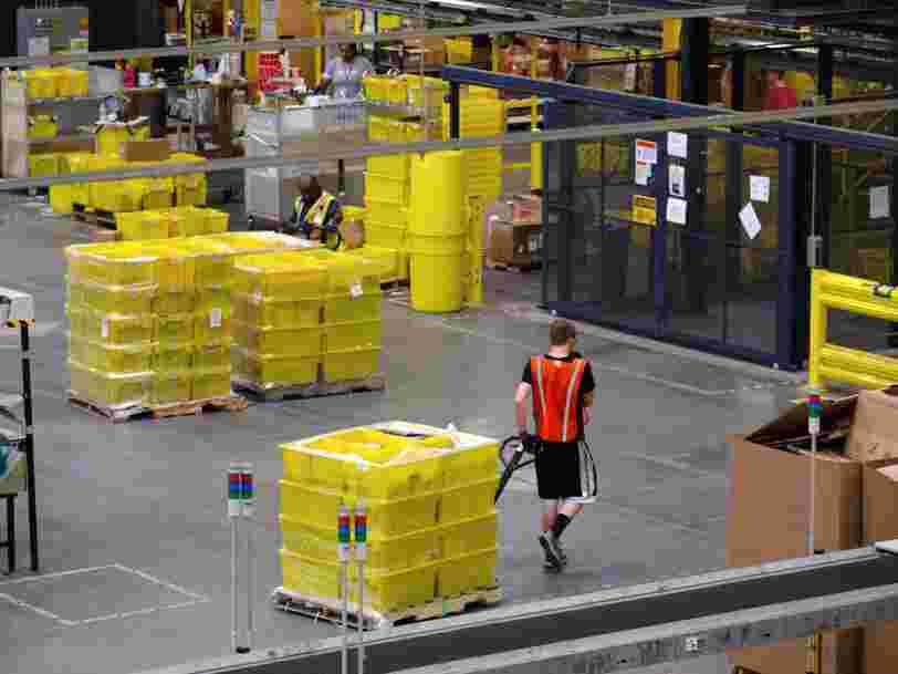 Amazon n'a pas le droit au chômage partiel pour les salariés des 6 entrepôts fermés
