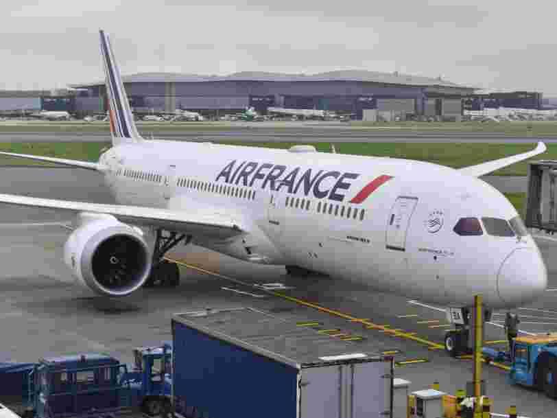 Air France compte réduire de 40% ses vols en France d'ici 2021