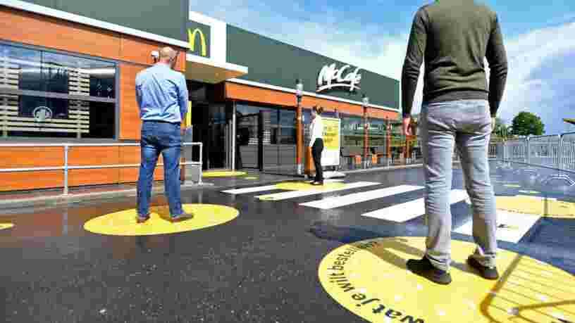 Voici le nouveau type de McDonald's testé aux Pays-Bas pour la période post-confinement