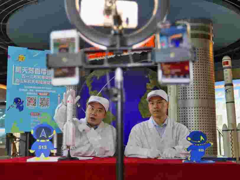 La Chine a lancé un nouveau vaisseau spatial expérimental capable d'accueillir 6 astronautes à terme