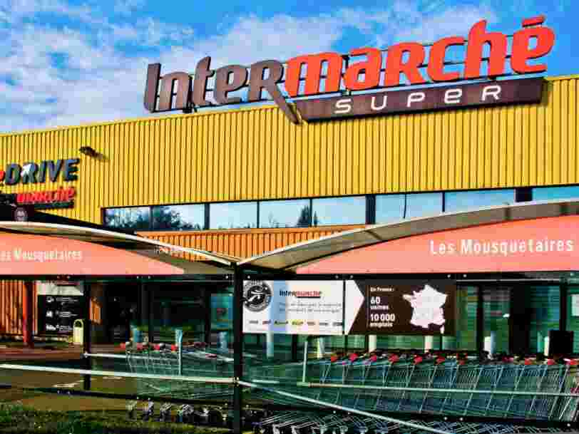 Intermarché et Netto profitent du confinement alors que Carrefour, Auchan et Leclerc reculent