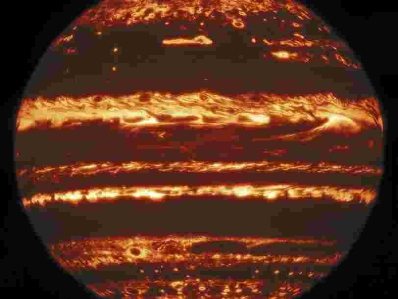 Des astronomes dressent un portrait sans précédent de Jupiter et sa Grande Tache rouge dans l'infrarouge
