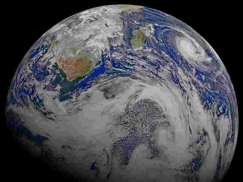 Cette simple animation montre de quoi est constituée la croûte terrestre