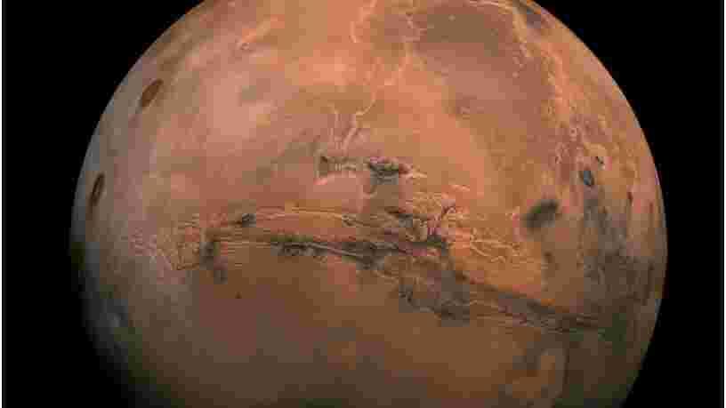Les microbes terriens ne devraient pas pouvoir contaminer les eaux saumâtres à la surface de Mars