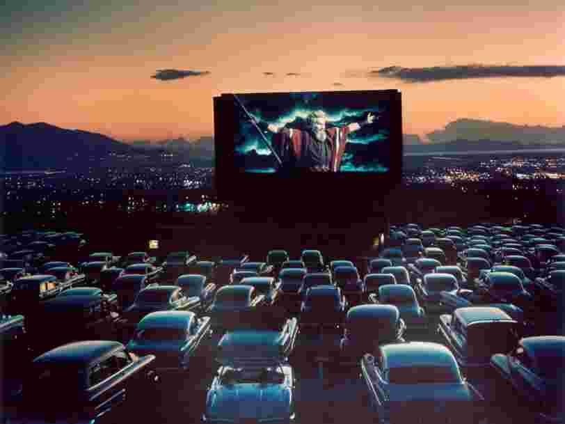 Les initiatives de cinémas drive-in se multiplient en France mais ne font pas que des heureux