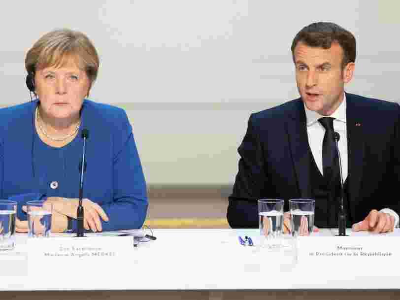 La France et l'Allemagne proposent un vaste plan d'aide européen qui se distingue par son caractère 'solidaire'