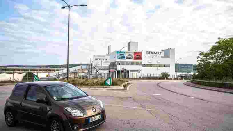 Renault pourrait arrêter la production de l'usine de Flins et fermer trois autres sites en France