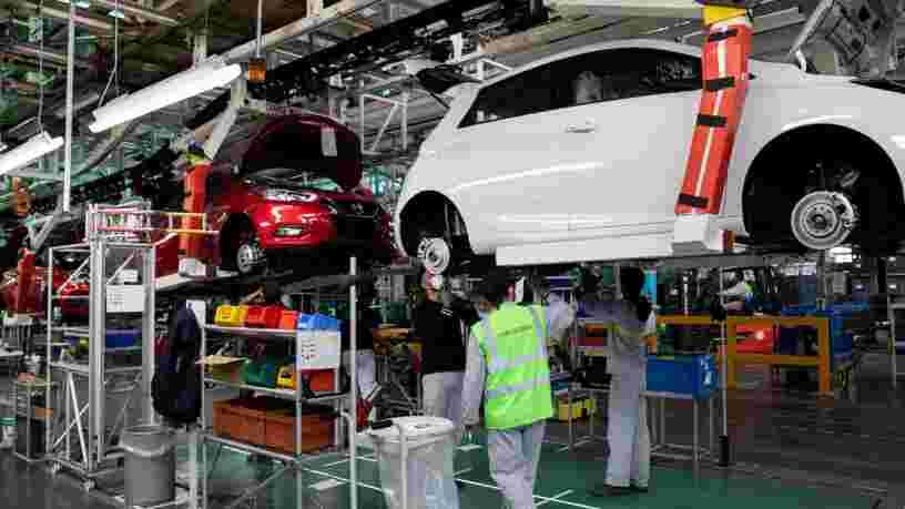 L'industrie française est loin d'être la plus automatisée d'Europe