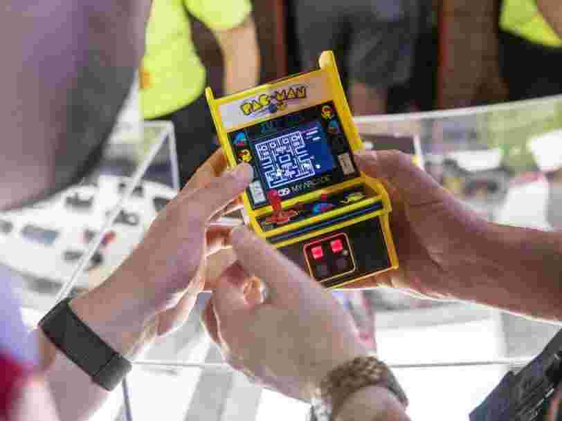 Pac-Man a 40 ans : voici les jeux d'arcade les plus populaires de l'histoire