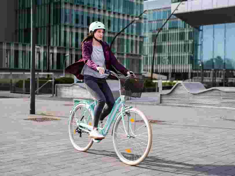Decathlon va proposer la location de vélo à partir de 15 euros par mois et sans engagement