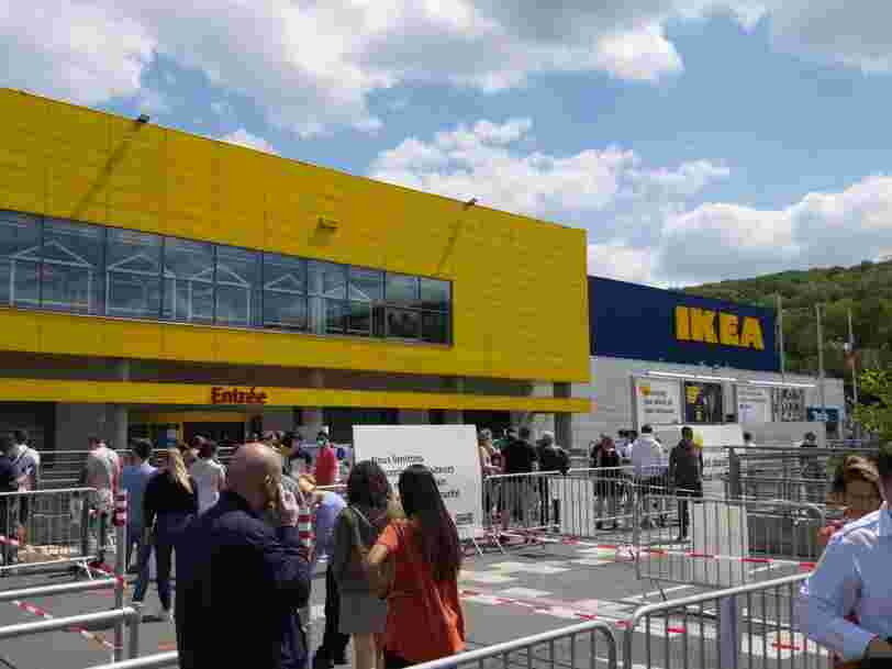 Ikea, Printemps... Les grands magasins accusent le coup à cause de la pandémie