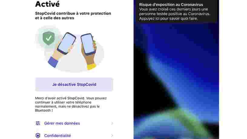 L'app StopCovid pourrait être disponible rapidement si le Parlement donne son accord