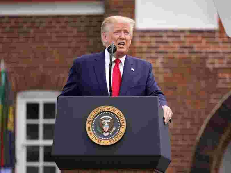 Twitter signale des messages de Donald Trump comme 'trompeurs' pour la première fois